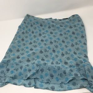 Marc Jacobs mini skirt printed blue